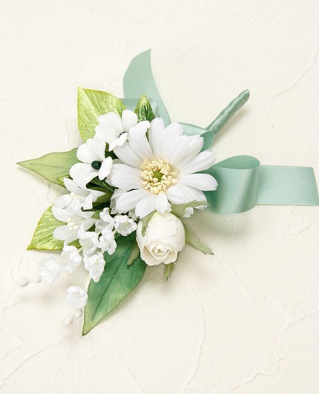 【ウェディングブーケ手作りキット】ハーモニーブーケキット(ホワイト)