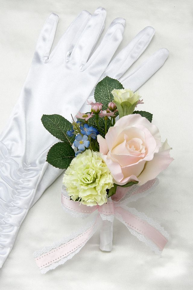 【造花ブーケ】ロマンティック・エンジェル(キャスケード)