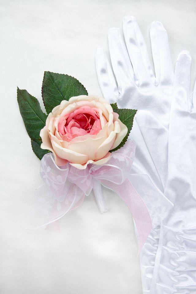 【造花ブーケ】ローズ・ロマンス(ラウンドブーケ)