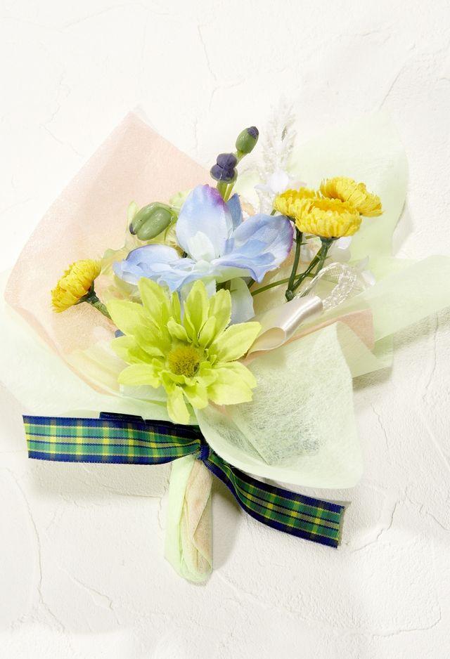 【造花ミニ花束】手のひらブーケ84