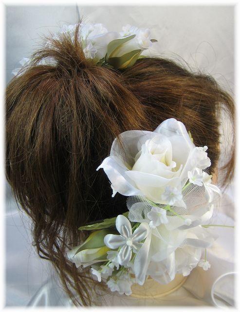 プリンセスローズのヘッドドレス(2点セット)(各色)