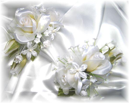 プリンセスのヘッドドレスキット(ホワイト)(2点セット)