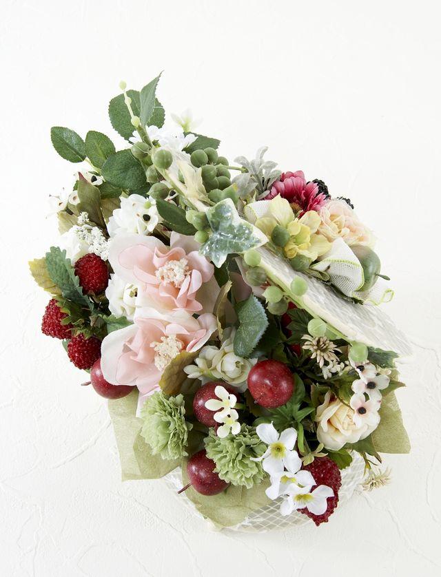 【造花アレンジメント】ローズベリー・スイーツ