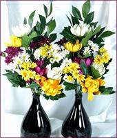 一対の仏花