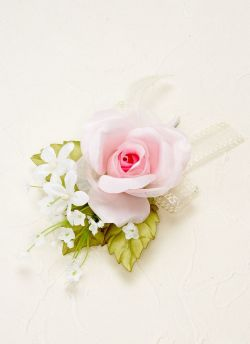 【ウェディングブーケ手作りキット】プリンセスローズコロニアルブーケキット(ピンク)