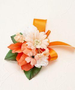 【ウェディングブーケ手作りキット】ハーモニーブーケキット(オレンジ)