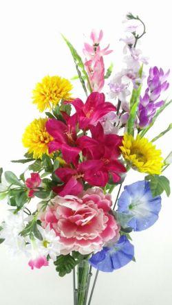 【造花供花】夏の造花の仏花I(1束)