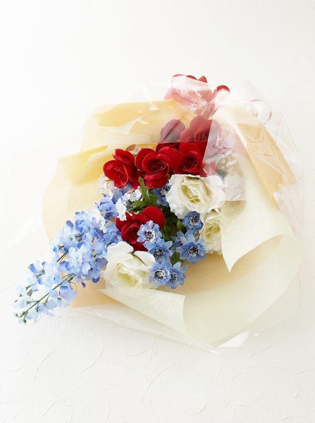 【贈呈用造花花束】サンクスブーケ
