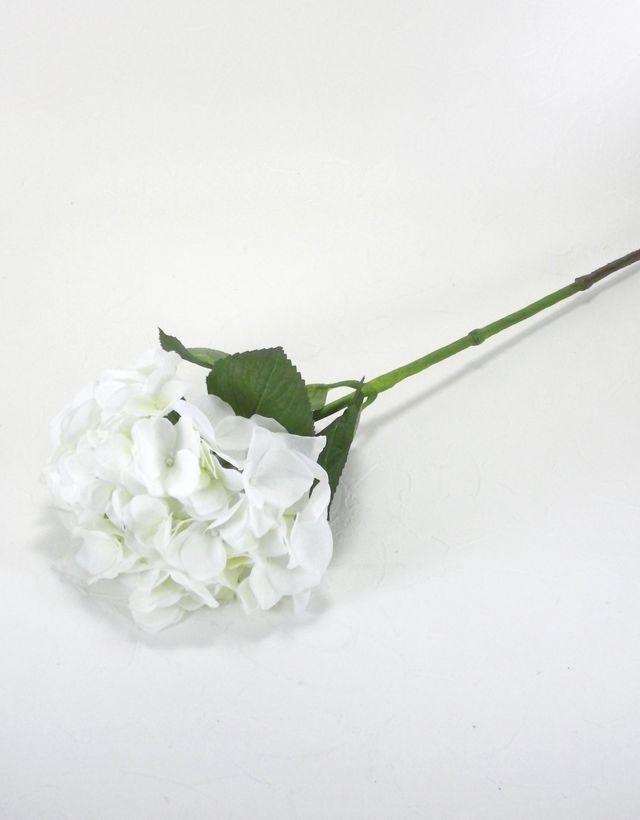 【造花・アートフラワー】紫陽花(ホワイト)